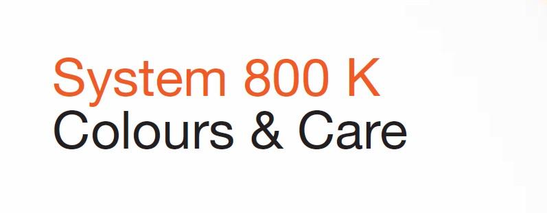 System 800K衛浴